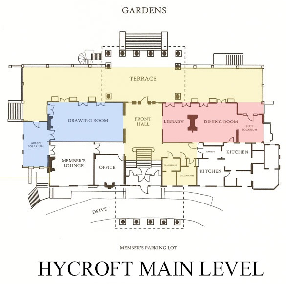 Hycroft Main Level Schematic