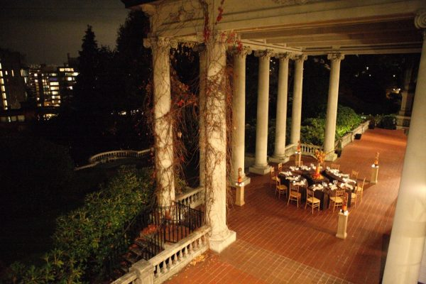 Dining in Terrace (Fall)