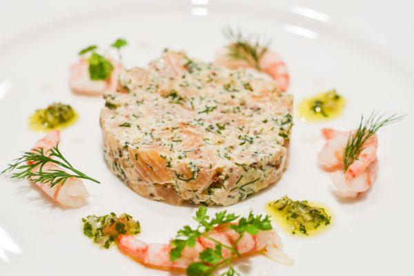 e. gravalax of salmon